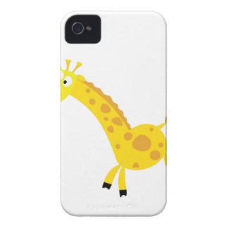 Cute kids 3  giraffes iPhone 4 case
