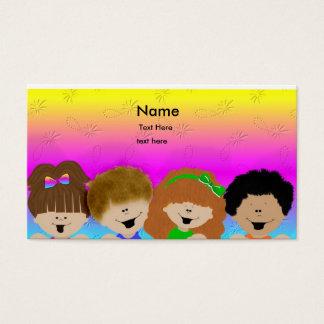 Cute Kids Business Card