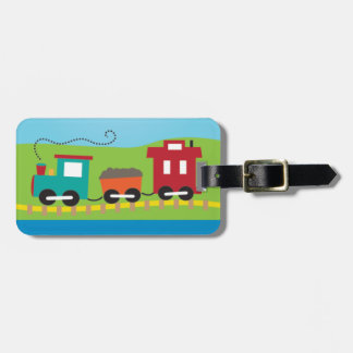 Cute Kid's Choo Choo Train Luggage Tag