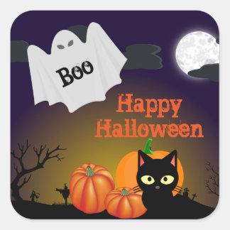 Cute Kids Halloween Ghost Sticker