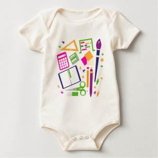 Cute kids pastels design edition baby bodysuit