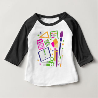Cute kids pastels design edition baby T-Shirt
