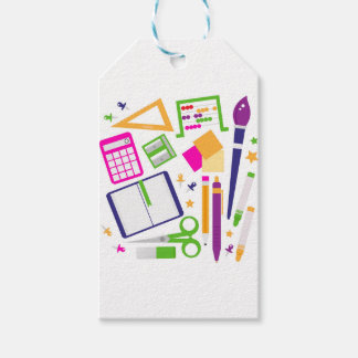 Cute kids pastels design edition gift tags