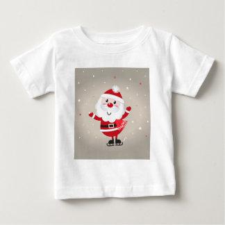 Cute kids santa red baby T-Shirt