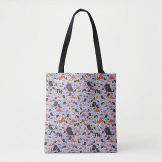 Cute King Charles Spaniel Tote