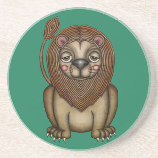 Cute King of the Beasts Lion Coaster