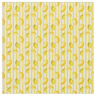 Cute kitchen lemon fruit pattern decor material fabric