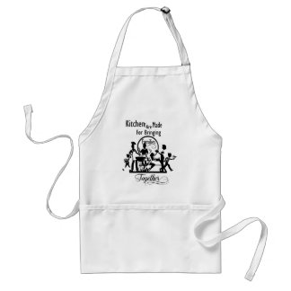 Cute kitchen word art Family apron