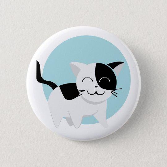 Cute Kitten 2 Inch Round Button
