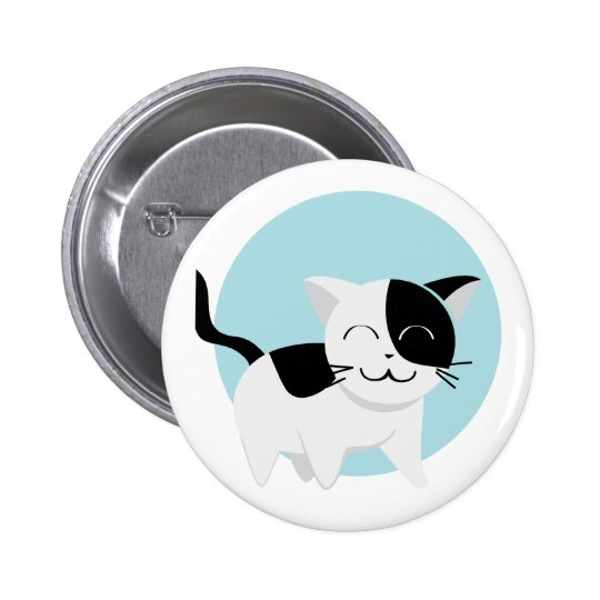 Cute Kitten 2 Inch Round Button