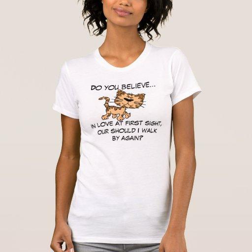 Cute Kitten Chatting You Up Shirt