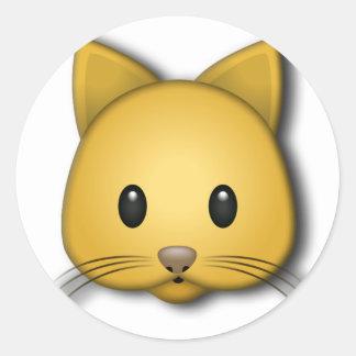 Cute Kitten Classic Round Sticker