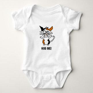 Cute kitten needs a hug baby bodysuit