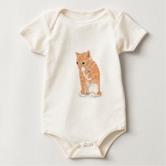 Cute Kitten  Products Baby Bodysuit