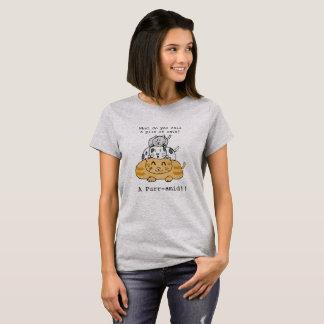 Cute kitten 'Purr-amid' T-Shirt