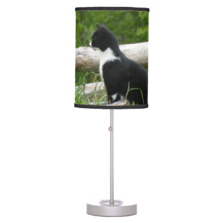 Cute Kitten Table Lamp
