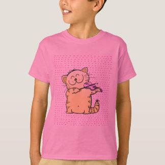 Cute-Kitten-violinist T-Shirt
