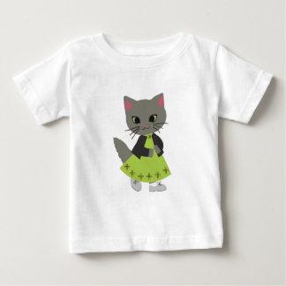 Cute Kitten with Pumpkins Halloween Clothing T Shirts