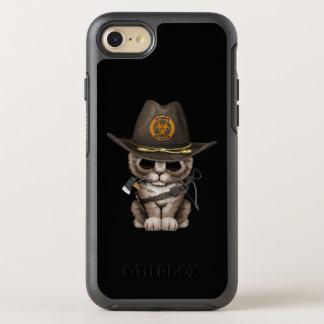 Cute Kitten Zombie Hunter OtterBox Symmetry iPhone 8/7 Case