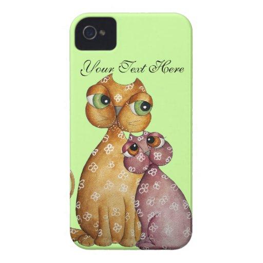 Cute kittens Blackberry Case