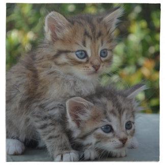 Cute Kittens Napkin