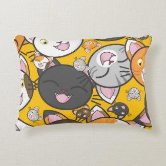 Cute Kitties Decorative Pillow