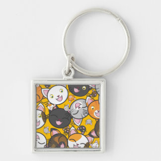 Cute Kitties Keychain
