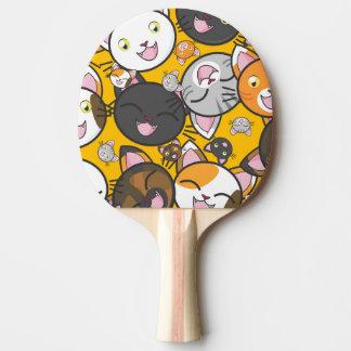Cute Kitties Ping Pong Paddle