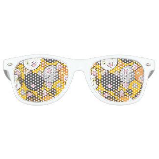 Cute Kitties Retro Sunglasses