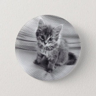 Cute Kitty Button