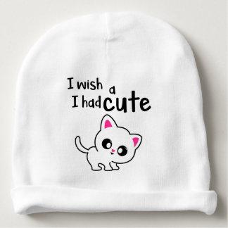 cute kitty cap baby beanie