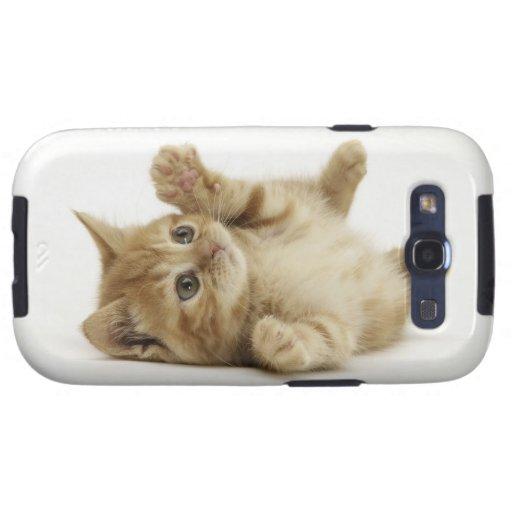 Cute Kitty Samsung Galaxy SIII Cover