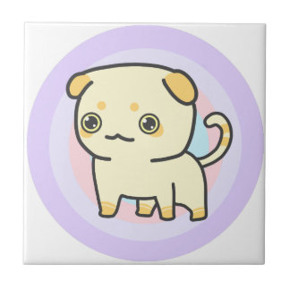 Cute Kitty Ceramic Tile