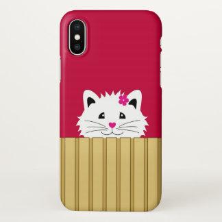 Cute Kitty iPhone X iPhone X Case