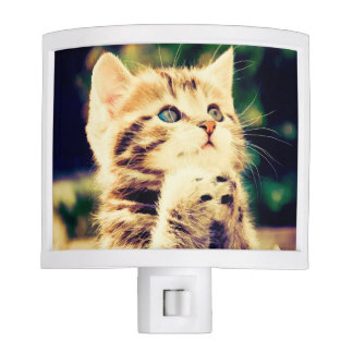 Cute Kitty Night Light