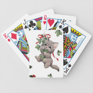 Cute Kitty Playing Cards