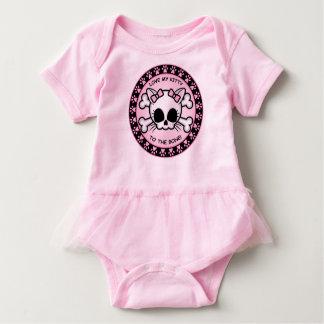 Cute Kitty Skull Baby Bodysuit