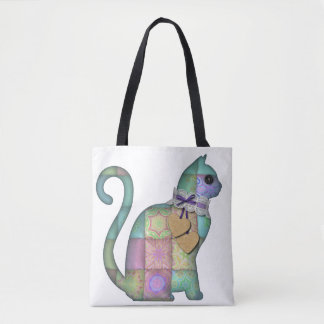 Cute Kitty Tote Bag