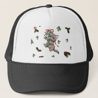 Cute Kitty Trucker Hat