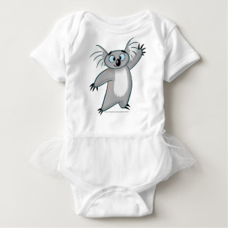 Cute Koala A friendly hello. Baby Bodysuit