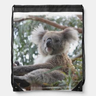 Cute Koala Bear Drawstring Bag
