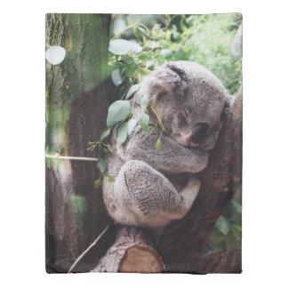 Cute Koala Bear relaxing in a Tree Duvet Cover