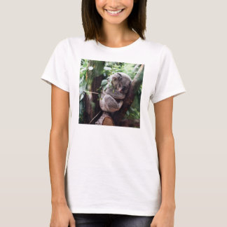 Cute Koala Bear relaxing in a Tree T-Shirt