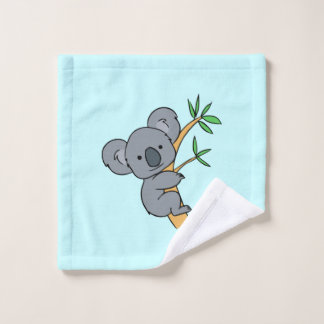 Cute Koala Bear Wash Cloth