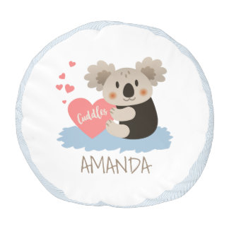 Cute Koala Cuddles ID386 Pouf