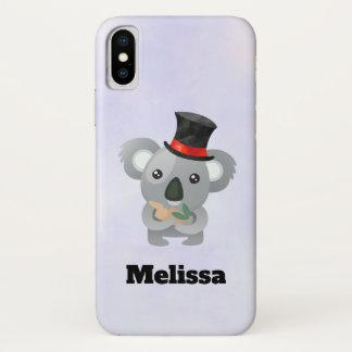 Cute Koala in a Black Top Hat Custom Case-Mate iPhone Case