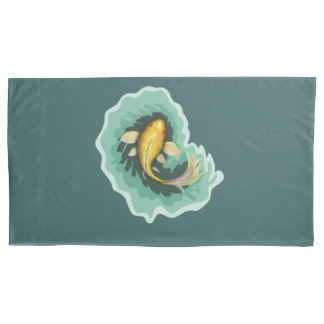 Cute Koi Fish Art Pillowcase