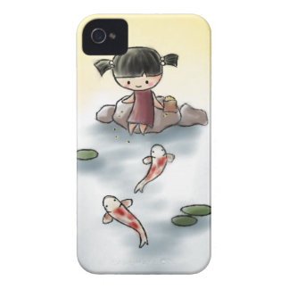 Cute Koi Iphone 4 case