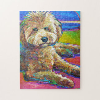 Cute LABRADOODLE Jigsaw Puzzle