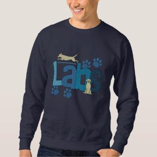 Cute Labs Dog Breed Embroidered Sweatshirt